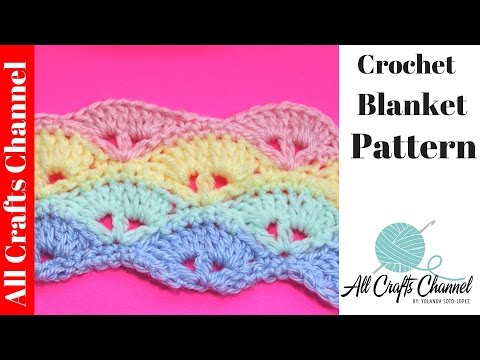 Learn to Crochet Baby Blanket Pattern
