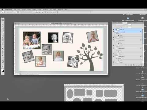 Tutorial Tree CollagePart2 photoshop storyboard placeholders