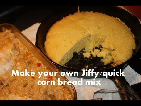 How to make your own jiffy/quick cornbread mix