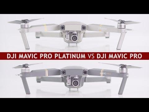 DJI Mavic Pro Platinum vs. DJI Mavic Pro | Differences and which drone to buy