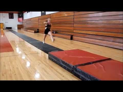 AAE - Portable Indoor Long Triple Jump Pit