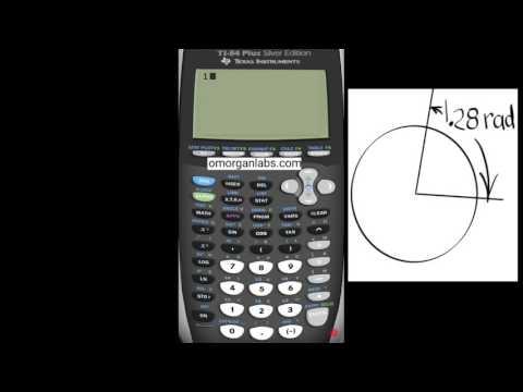 GCT006 TI-84 Convert Radians to Degrees