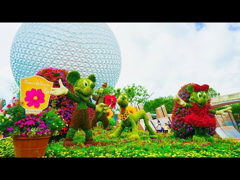 Walt Disney World Vlog: Day 1 - Last day of Epcot's Flower & Garden Festival | May 2018