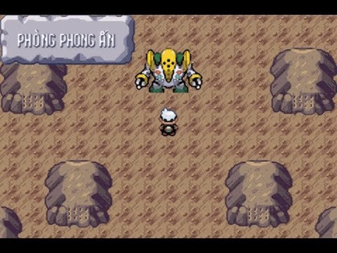 Pokemon Emerald Việt hóa (part 29): Bắt REGI trio và REGIGIGAS