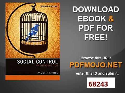 Social Control An Introduction