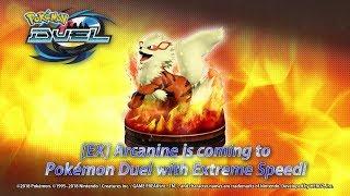Arcanine Roars Into Battle in Pokémon Duel!