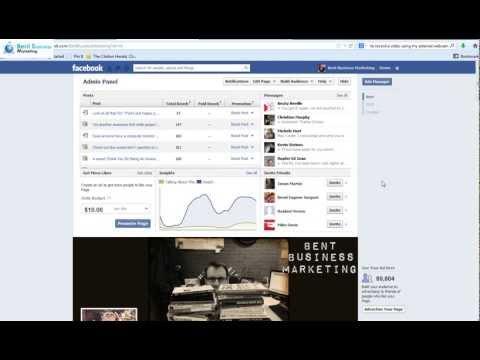 How To Select Your Own Unique Facebook Web URL! Facebook.com/BentBusinessMarketing