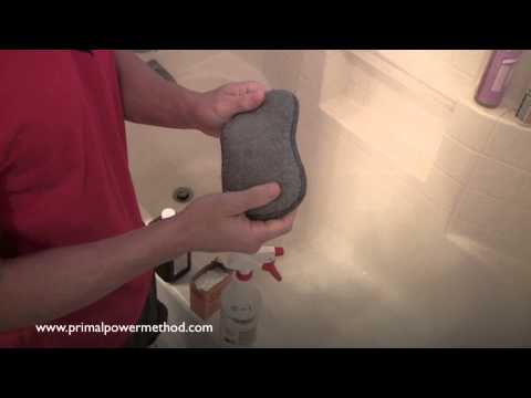 Primal Power Method Green Cleaning: How to Clean Your Shower and Tub without Toxic Chemicals