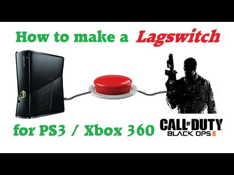 How to Build a Lag Switch for PS3 / Xbox 360 with gameplay [HD] [DE] En subbed