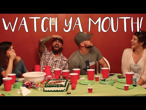 Watch Ya' Mouth Challenge - Speak Out Game - Hilarious!