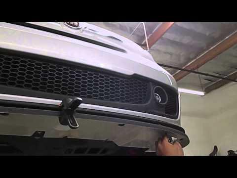 ACS Cavallino Front Splitter Installation - Road///Race Motorsports