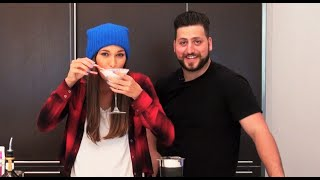 Follow Brittany on Instagram - @BrittanyBG  Drink Recipe -  1 oz Vanilla Vodka 1 oz White Chocolate Liqueur 1/2 oz Peppermint Schnapps 1/2 oz Half and Half Shake with Ice and Strain into Martini Glass rimmed with crushed Candy Cane  Prank Channel - http://www.Youtube.com/AlexMandel Vlog Channel - http://www.YouTube.com/AlexMandelVlog Twitter - http://www.Twitter.com/AlexMandel Facebook - http://www.Facebook.com/AlexMandel Instagram - AlexMandel Email - EmailAlexMandel@gmail.com (yes, all 3 words)  Fan Mail - 23371 Mulholland Dr. #129 Woodland Hills, CA 91364  Thank you all for your continued support, Go A-Team!!