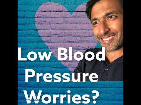 Worried about your low blood pressure?