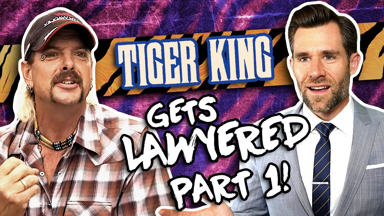 Real Lawyer Reacts to Tiger King // LegalEagle