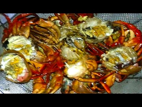 Top Hot Food In My Village - Buy, Cook And Eat Fresh Water Crabs - Traditional Food In Cambodia