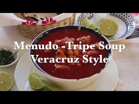 Menudo-Tripe Soup Veracruz Style