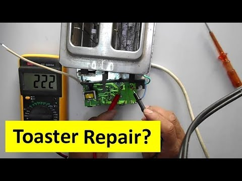 Introduction to Toaster Repairing - How to Repair Fully Dead Toaster