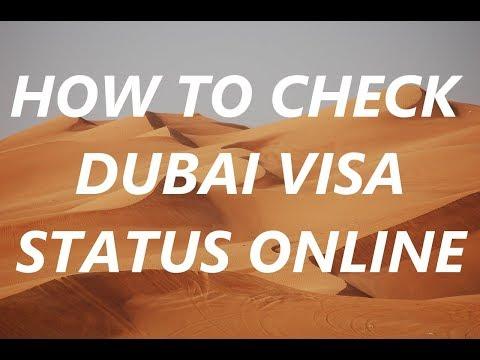 How to Check Dubai Visa Status || Check UAE Visa Status Online