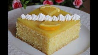 بسبوسة بعصير البرتقال باسهل خطوات بكريمة البرتقال الرائعة مع رباح محمد ( الحلقة 388 )