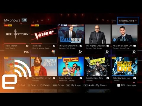 A look at Sony's PlayStation Vue TV | Engadget