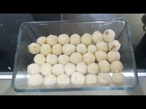 How to make MILKMAID COCONUT LADOO RECIPE in 5 minutes