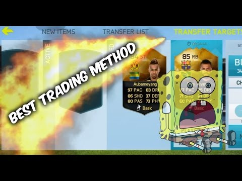 FIFA 15 IOS/ANDROID | BEST TRADING METHOD EVER! | MAKE MILLIONS OF COINS!!!
