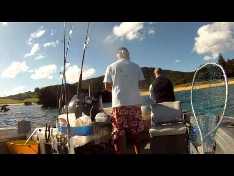 Fishing Lord Howe Island lagoon