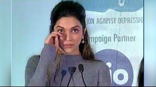 Deepika Padukone Emotional Speech On Depression - Must Watch Video