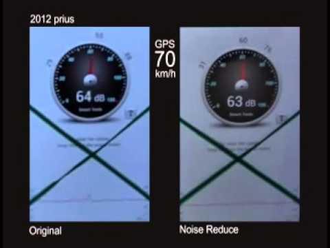 2013 prius NVH test @ 70km/h