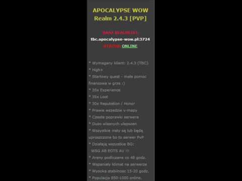 Jak to jest spieprzone odcinek 14 - http://apocalypse-wow.pl/