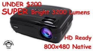 Roadwi 3200 Lumens 1080P LED Home Theater Projector review