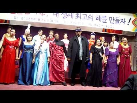 Multi-culture Traditional dress fashion show