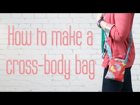 How to Make a Crossbody Mini Bag - Sewing Tutorial