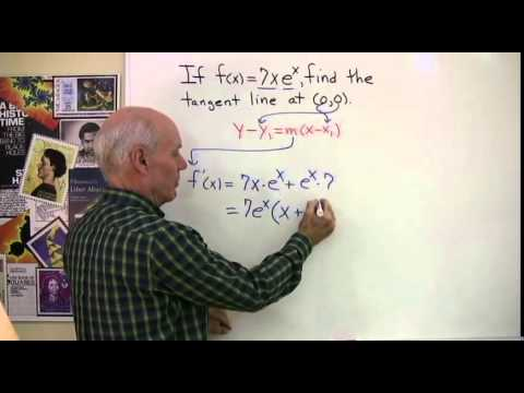 Exponential Functions and Tangent Lines