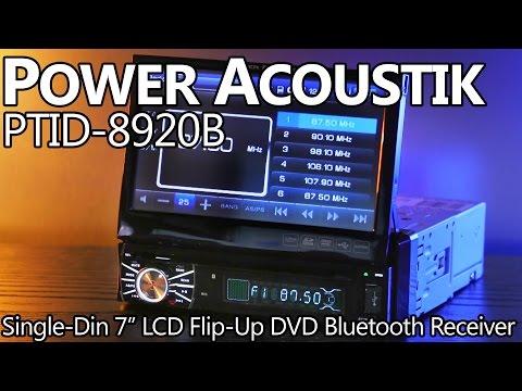 Power Acoustik PTID-8920B Single-Din 7