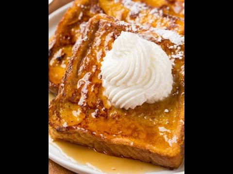 The best Pumpkin French Toast Recipe