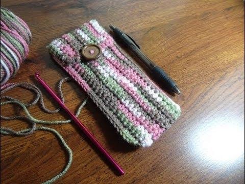 Crochet Pen Pouch