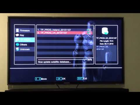 HOW TO UPGRADE VIA NETWORK (Openbox Skybox Libertview) New method of how to upgrade channel list