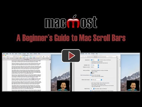 A Beginner's Guide to Mac Scroll Bars (#1636)