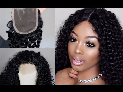 HOW TO MAKE A WIG - LACE CLOSURE | UNICE HAIR |STEP BY STEP