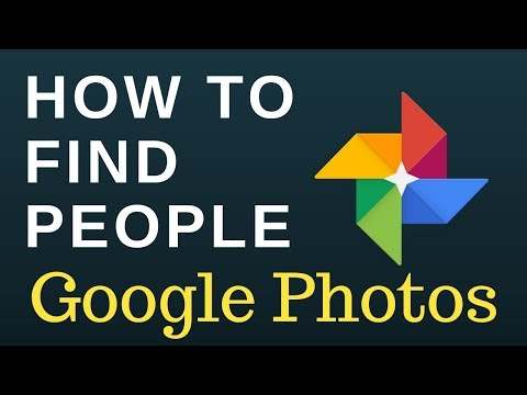 How to find people in Google Photos