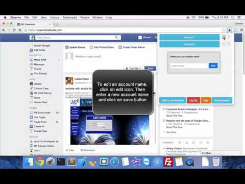 How To Use Multiple Facebook Accounts At Once