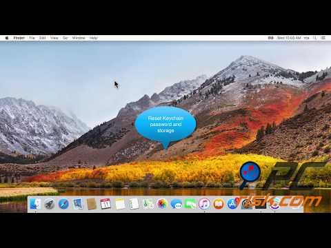 How to reset or change Mac's admin password?