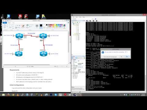EIGRP Troubleshooting - CCNP Route Lab