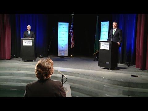 WA Gubernatorial Debate - Pasco, WA  10-19-16