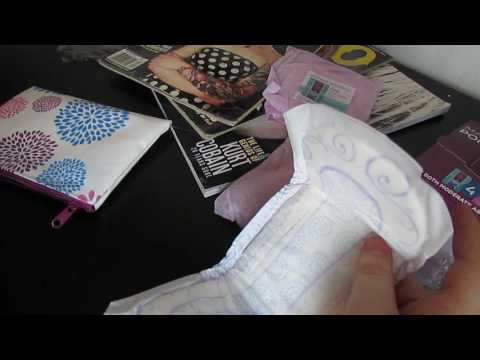 Unboxing And Review On Poise Free Sample!!