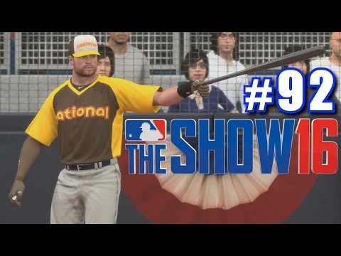 HOME RUN DERBY!   MLB The Show 16   Road to the Show #92