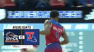 UTSA vs. Louisiana Tech Basketball Highlights (2018-19) | Stadium