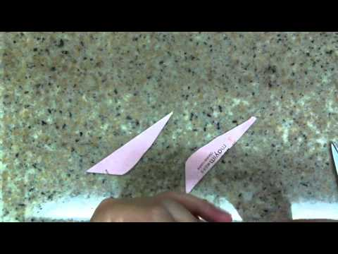 How to fold a fish with a red packet
