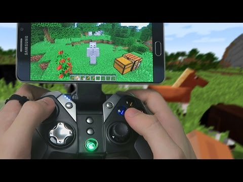Minecraft: Pocket Edition - HOW TO USE A CONTROLLER! (Best Minecraft PE Controller / Gamesir G4s)